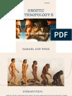 Gnostic Anthropology Vol 6