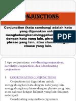 English Language - Materi Conjuction