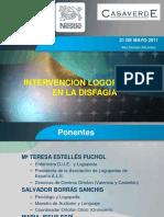 Intervencion Logopedica en La Disfagia