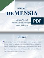 refrat demensia