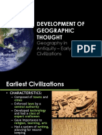 02.01 Geography in Antiquity