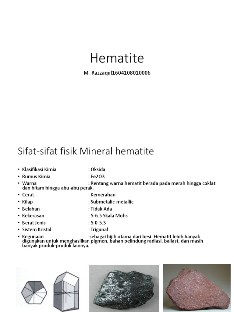 Hematite Pptx