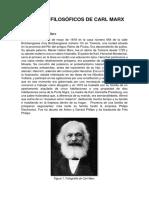 Aportes Filosóficos de Carl Marx