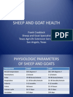 Sheep and Goat Health