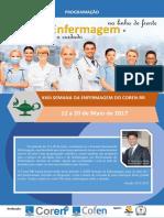 Programao Da Semana Da Enfermagem 2017