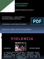 Clasificacion de Violencia (1)