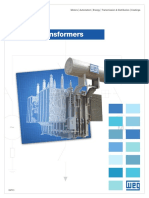 WEG Power Transformers Usaptx13 Brochure English