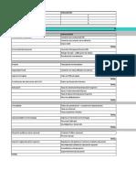 Matriz de Diagnostico Efe y Efi Formato