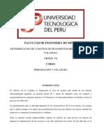Fragmentacion Tamaños Post Voladura 1212