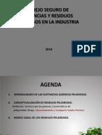 Seguridad Industrial - Sustancias Peligrosas