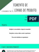 Desenvolvimento de Produto e Linhas de Produto