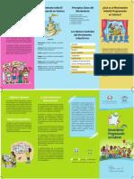 Brochure Movimiento Progresando en Valores
