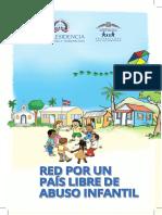 Brochure Red de Niños, Niñas y Adolescentes por un País Libre de Abuso Infantil