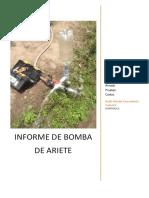 Informe de Bomba de Ariete