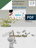 Présentation_Exposé_ Le Salaire Au Maroc_DAOUI & LAMALEM_Master SEMC