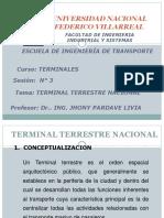 SESION 3 -Terminal Terrestre Nacional