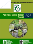 Plant Tissue Culture. Techno-Commercial Feasibility