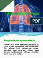 1.2 Fisiologi Respirasi