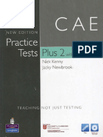 CAE Practice Tests Plus 2 Exam2008 (Kenny & Newbrook)