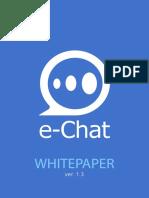 E-Chat Whitepaper Ver13
