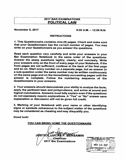 BAR Exam Political Law 2017 | Extradition | Virtue