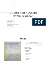 Kel 2 Cnd_analisis Resep Dokter Spesialis Syaraf
