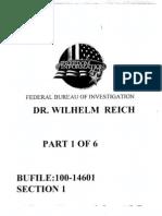 Wilhelm Reich ~ FBI Files (released under Freedom of Information Act)