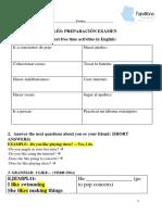 Ficha de Inglés Tema 1