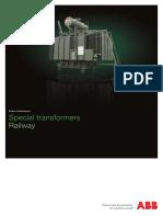 1LFI2026 Special Power Transformers for Railway - Brochure En