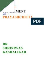 Stress Punishment and Prayashchitta Dr. Shriniwas Kashalikar