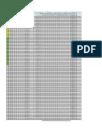 Planilla de Estructuras L-5038