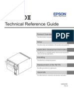 Epson TMT70ii - Technical Reference Guide