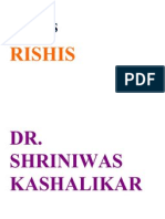 Stress and Rishis Dr. Shriniwas Kashalikar