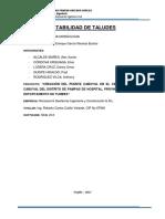 Estructuras Hidraulicas (Estabilidad de Taludes)
