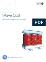 GE Wavecast Dry Type Transformer