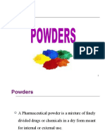 Powder pharmaceutics