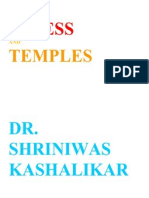 Stress and Temples Dr. Shriniwas j. Kashalikar