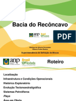 Bacia Do Recôncavo - Anp