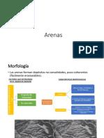 Arenas,Areniscas, Depositos Salinos fotogeologia