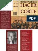 Verbitsky, Horacio - Hacer La Corte, Planeta, 1993