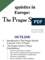 European Linguistics in the 20th Century