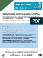 Drowning Fact Sheet A