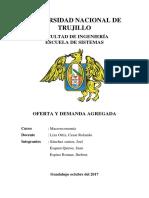 Informe-Demanda y Oferta Agregada