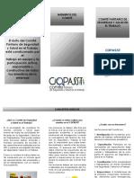 folleto COPASST