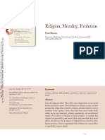 Paul Bloom - Religion, Morality, Evolution (Annual Review of Psychology, 2012).pdf