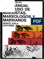 Silva, Ludovico - Antimanual para uso de marxistas, marxólogos y marxianos [1975].pdf