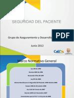 Presentacion Seguridad Paciente General