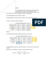 Ejemplos - Probabilidad Condicional
