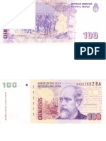 100 Pesos Argentinos