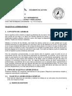 MAQUINAS ASERRADORAS - PERFILADORAS